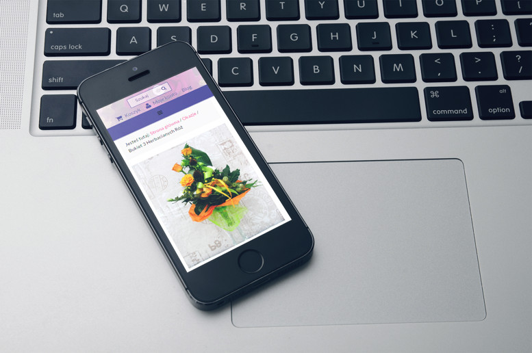 Strony internetowe smartfon Krokus