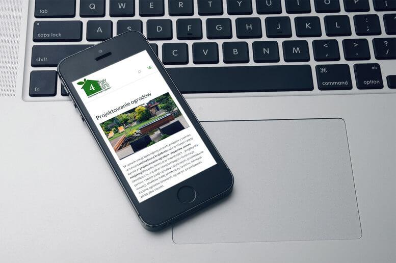 Tworzenie stron smartfon 4porydomu