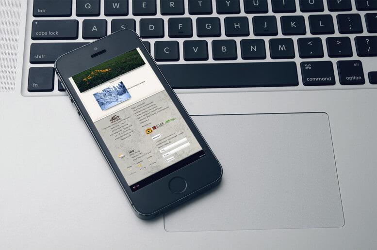 strona www dom na lakach smartfon