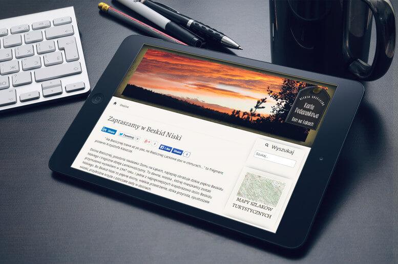 strona www dom na lakach tablet