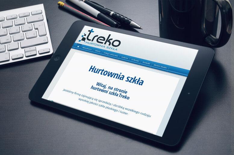witryna internetowa treko tablet
