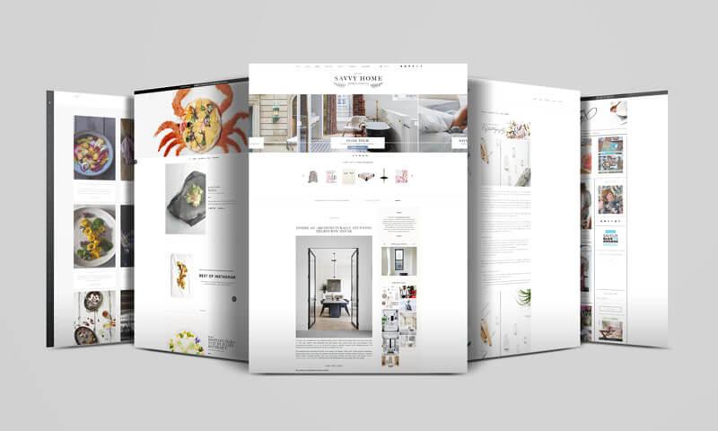Zwycięzcy wkategorii Blogi Roku 2015 (Savvy Home, Coco and Mingo, Dine X Design)