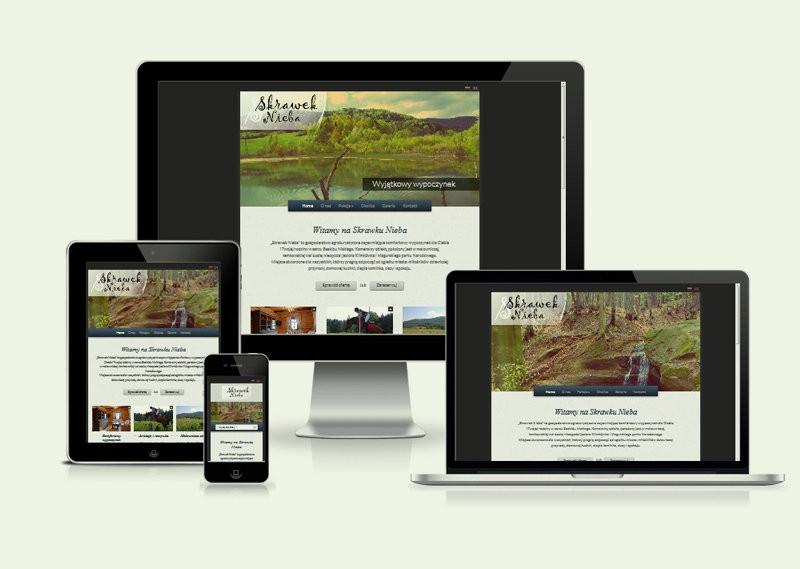 Strona internetowa Skrawek Nieba 2