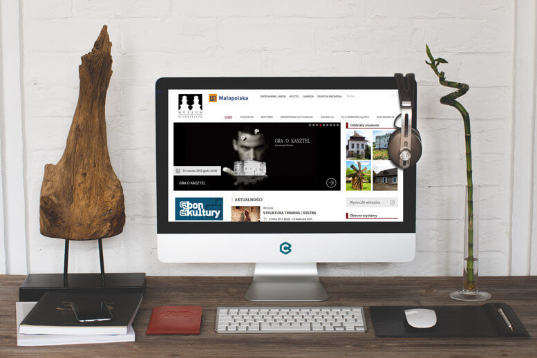 strona muzeum karwacjanow monitor