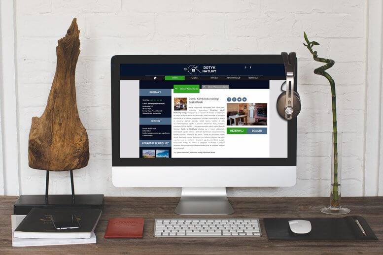 Strona www Dotyk Natury