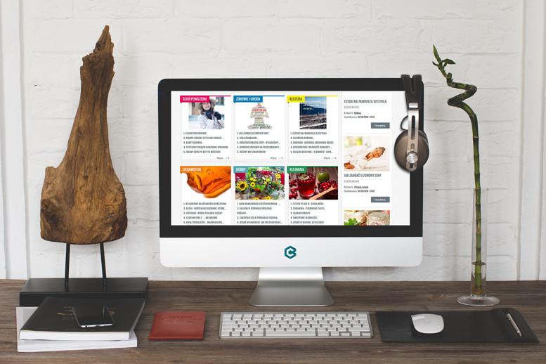 strony internetowe monitor portal ip50+
