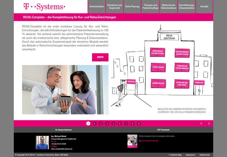 REHA T-Systems strona