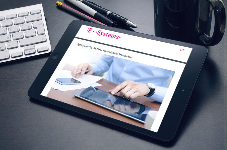 strony internetowe tablet t-systems
