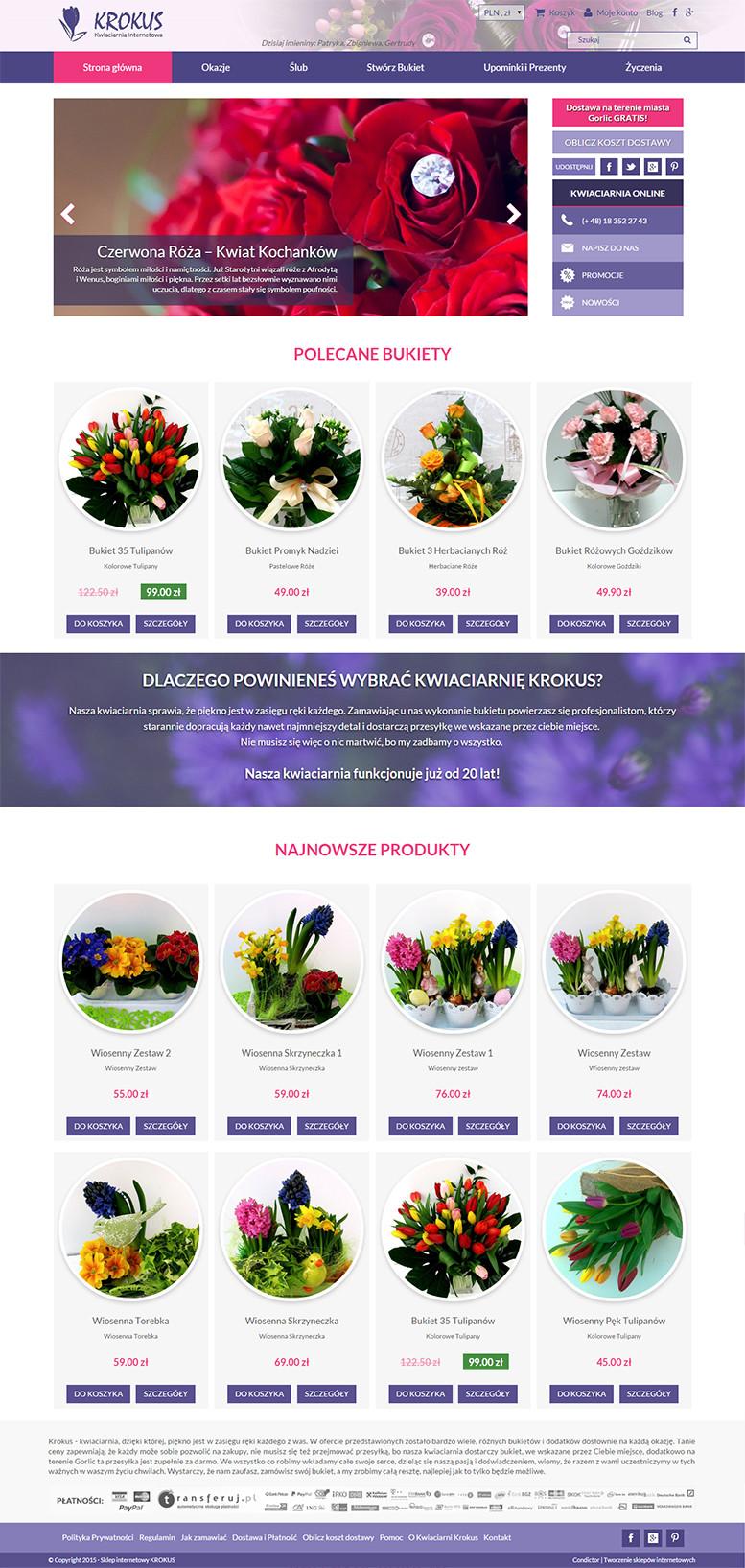 Kwiaciarnia Internetowa Krokus