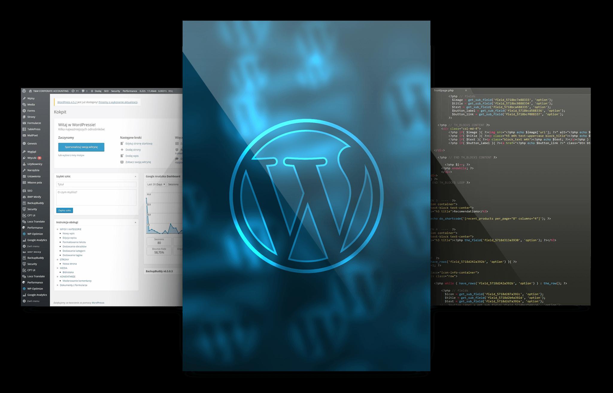 Wordpress-tworzenie-stron